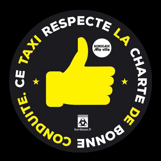 Charte bonne conduite TAXI BORDEAUX