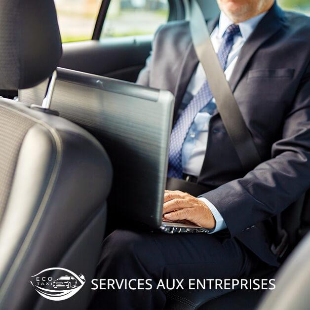 Eco Taxi Bordeaux - Service réservation taxi pour entreprises